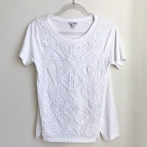 Lucky Brand embroidered tee